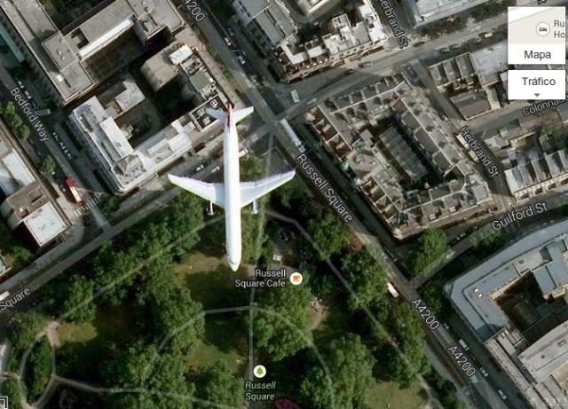 captura avión